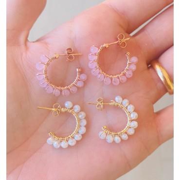 Cerchi perline colorate
