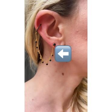 Ear cuff bottoncino