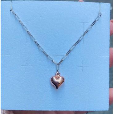 Collana cuore 3d